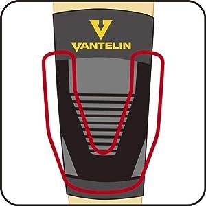 バンテリンサポーター ひざ用 ブラック ふつうサイズ ひざ頭周囲 34~37cm