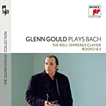 GLENN GOULD PLAYS BACH - THE WELL TEMPERED CLAVIER BOOKS 1 & 11