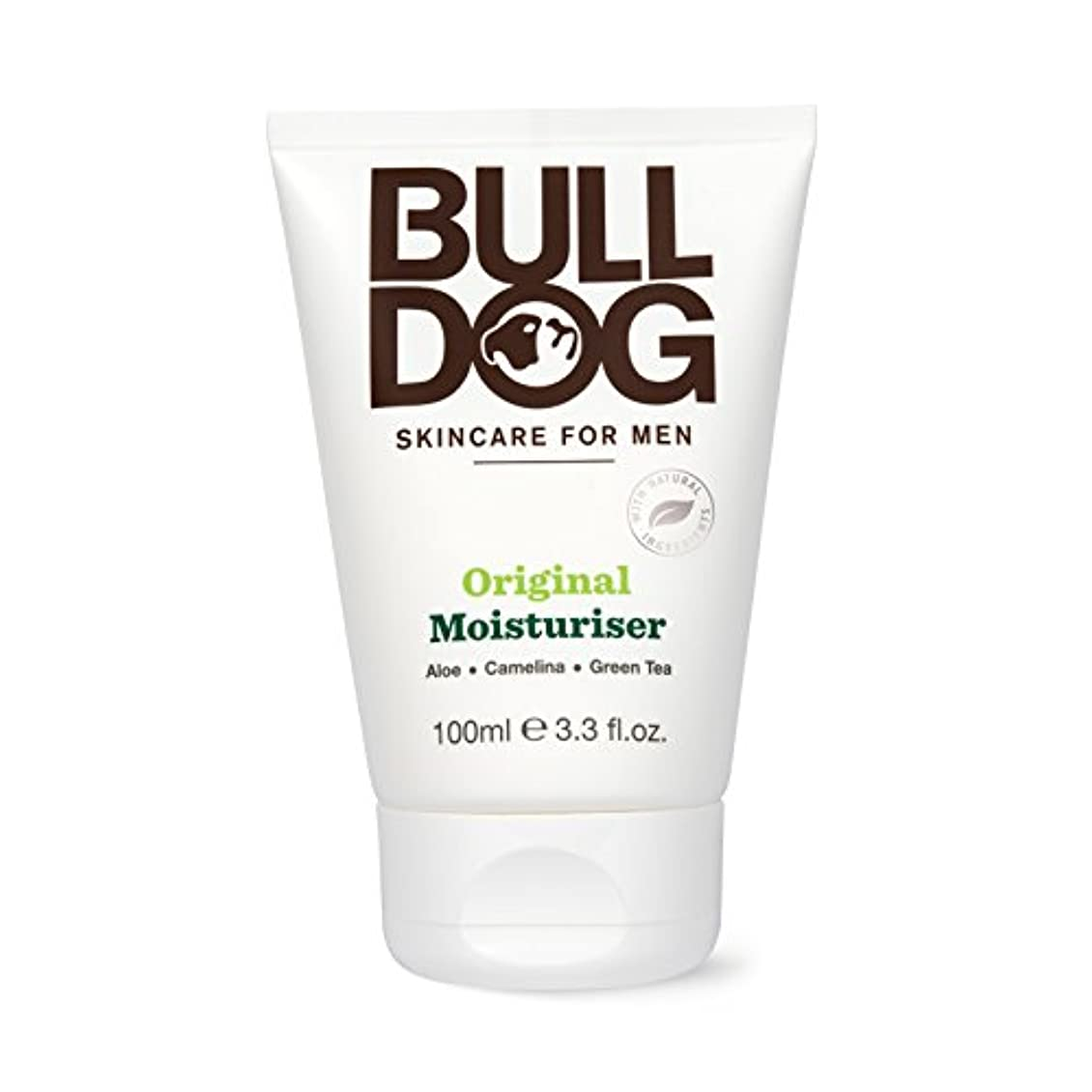 伝染性の食物年金受給者ブルドッグ Bulldog オリジナル モイスチャライザー(保湿クリーム) 100mL