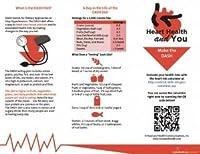 ハートヘルスパンフレット–- Make The Dash–25のパケット