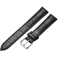 Genuine Leather Watch Strap Bracelet Optional Color 14 15 16 17 18 19 20mm Watch Band Replacement