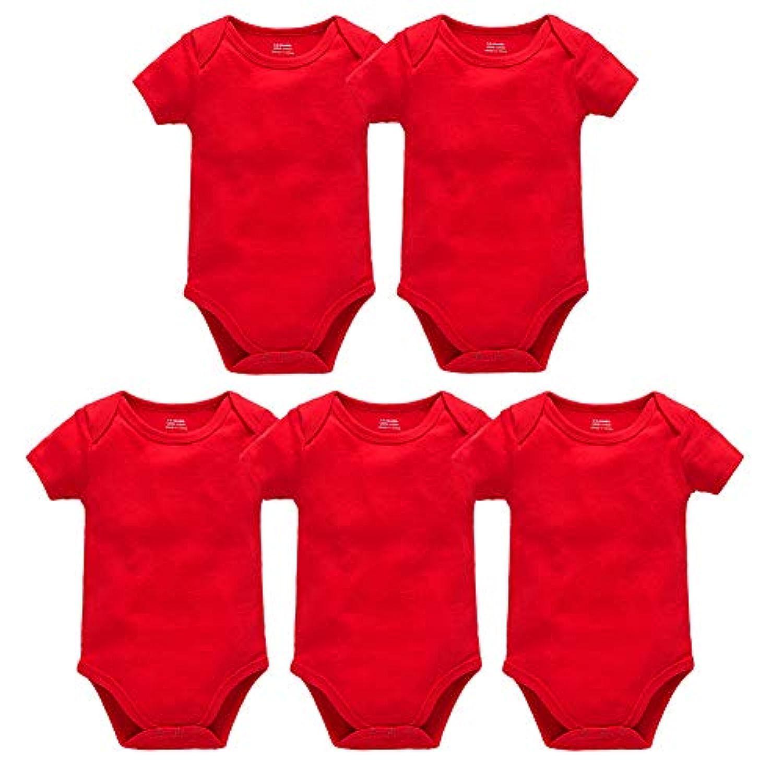 フェミニス ベビー服 赤ちゃん おすすめ ロンパース 肌着 5枚セット 寝まき パジャマ いつまで 女の子 男の子 新生児ボタン 春夏 半袖 カバーオール 伸縮 吸湿 コットン 綿100%3M 6M 12M 18M 24M プレゼント 出産祝い