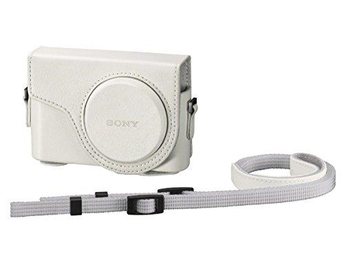 SONY デジタルカメラケース ジャケットケース ホワイト LCJ-WD WC SYH