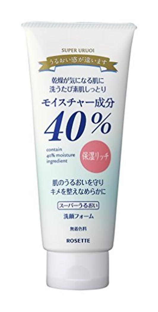 マガジン代わりにを立てる仲介者ロゼット R40%スーパーうるおい洗顔フォーム168G×48点セット (4901696506745)