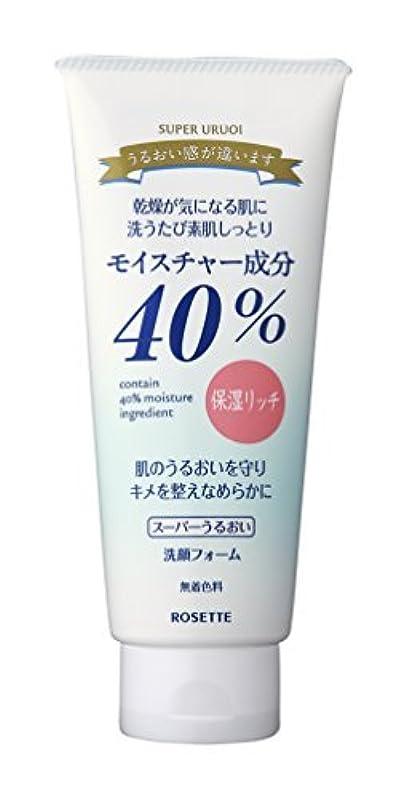 ナイトスポット始まり仲間ロゼット R40%スーパーうるおい洗顔フォーム168G×48点セット (4901696506745)