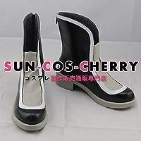 【サイズ選択可】コスプレ靴 ブーツ J-0398 僕のヒーローアカデミア 拳藤一佳 けんどういつか 女性23.5CM