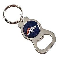 エバーグリーン Evergreen Enterprises エンタープライズ キーホルダー Denver Broncos Basic Bottle Opener Keychain [並行輸入品]
