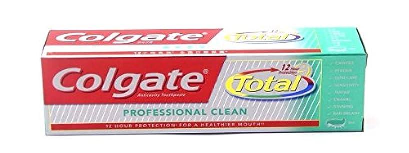 申し立てのスコアブラウンColgate Total Professional Clean 160g  コールゲート トータル プロフェッショナル クリーン  160g
