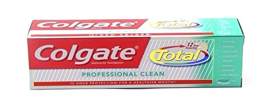 仮説無力海里Colgate Total Professional Clean 160g  コールゲート トータル プロフェッショナル クリーン  160g