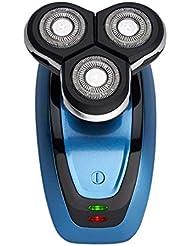 電動製剃機4Dフローティング3ナイフボディウォッシュかみそりはげアーティファクト男性の贈り物
