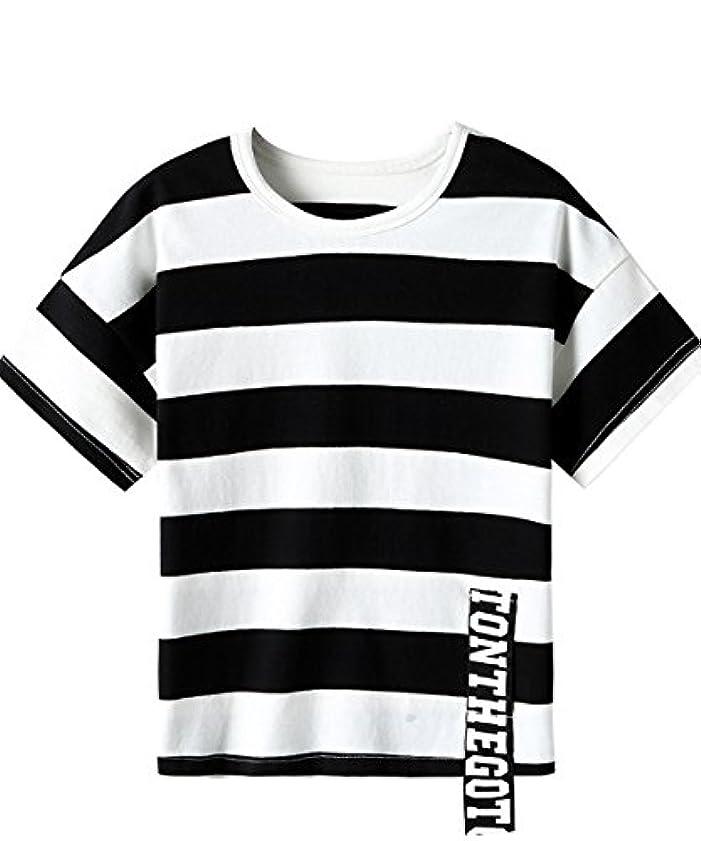 歌メキシコもろいパイオニア キャンプ(Pioneer Camp) 半袖Tシャツ キッズ ボーダー ベーシック セール 男の子 シンプル ティーシャツ 709207