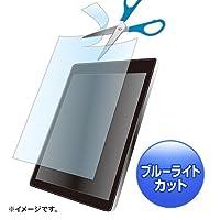 サンワサプライ アウトレット ブルーライトカット液晶保護フィルム 12.5型 対応 フリーカットタイプ LCD-125WBCF 箱にキズ、汚れのあるアウトレット品です。