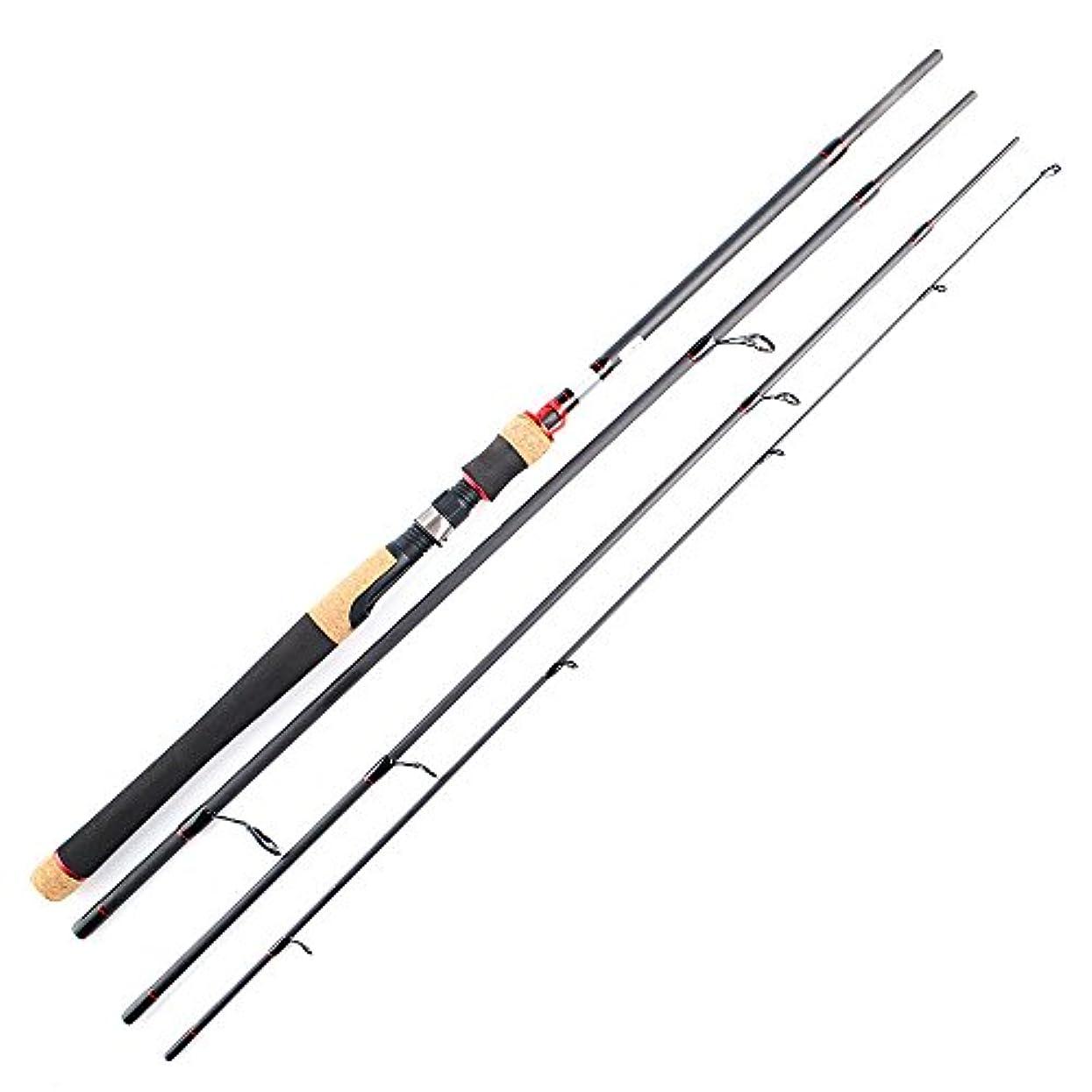 直面するキャベツチラチラする釣り ロッド 釣り竿釣り竿釣り用品池リバーサイドに適した炭素鋼棒 (サイズ : 2.4m)