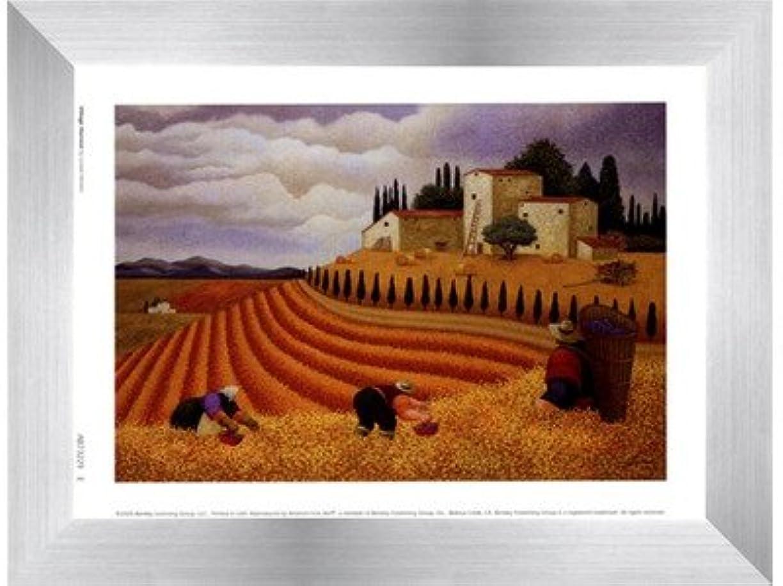 前方へアプローチ上へ村Harvest by Lowell Herrero – 8 x 6インチ – アートプリントポスター LE_455560-F9935-8x6