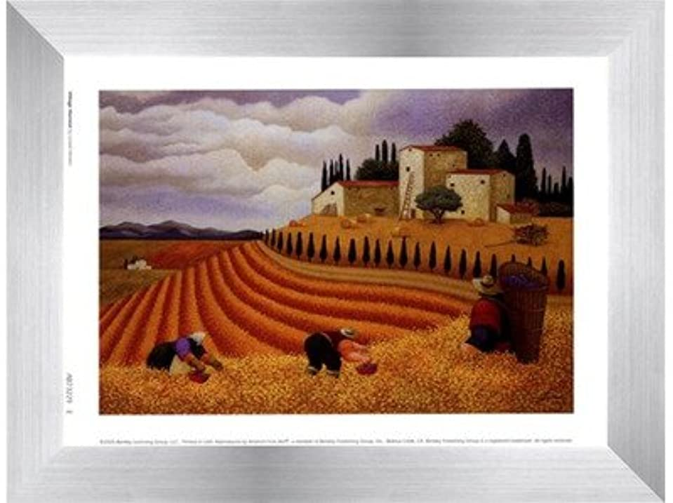 気付くブラシトランクライブラリ村Harvest by Lowell Herrero – 8 x 6インチ – アートプリントポスター LE_455560-F9935-8x6