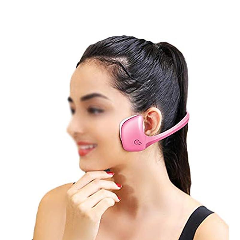 ビジュアルおかしいリーXHLMRMJ フェイシャルスリミング、フェイシャルマッサージャー、ダブルチンマッセターマッスル、電動Vフェイス、男性と女性の両方が使用できます