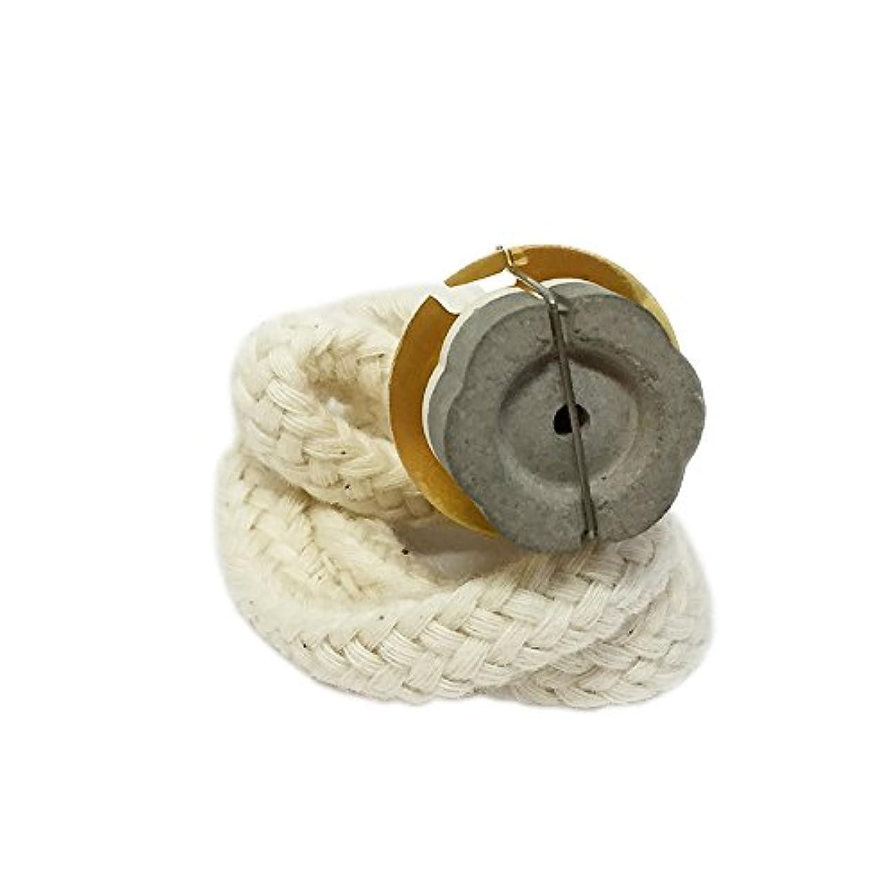 メイド徹底つまらないランプベルジェにも使えるアロマランプ交換バーナー【ゴールド】ラージランプ用 セラミック芯