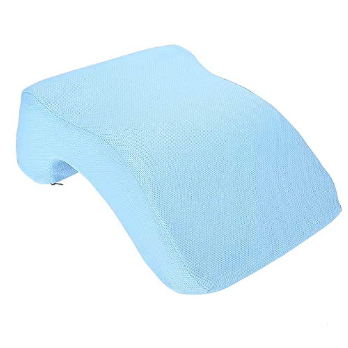 居眠りする睡眠の枕クッション、オフィススクールデスクでのナックと頭の使用のための通気性のある旅行枕人間工学的の極度の柔らかい首サポート遅い反動の記憶泡の残りのクッション