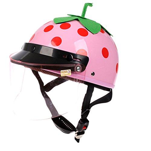 バイク用ヘルメット 半帽 レディース ジェット バッテリカー...