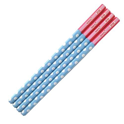 トンボ鉛筆 鉛筆 ippo! かきかた 2B KB-KRW03-2B プリントW 1ダース