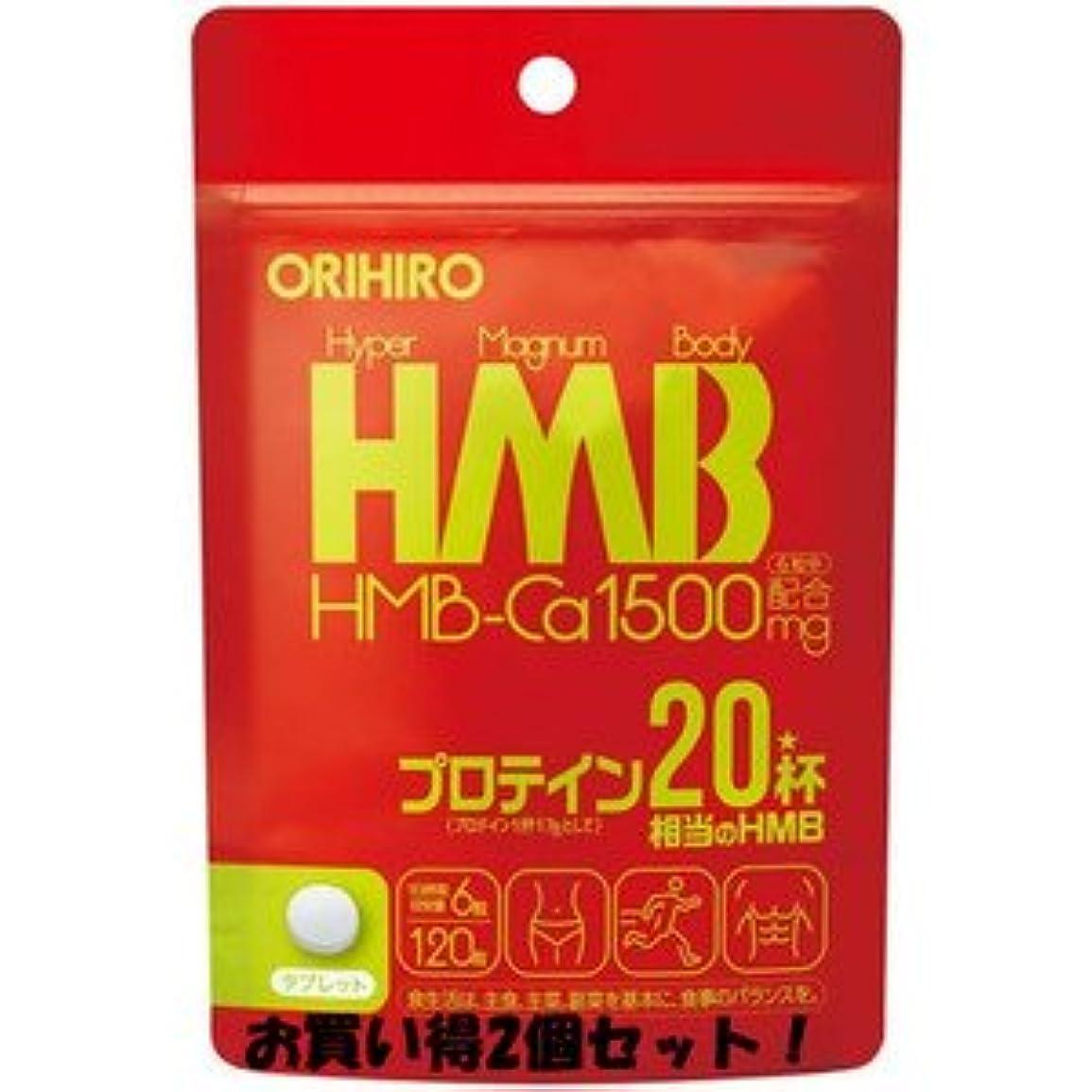 ピル干渉スカーフ(オリヒロ)HMB 120粒 120粒/新商品/バーサーカー/(お買い得2個セット)