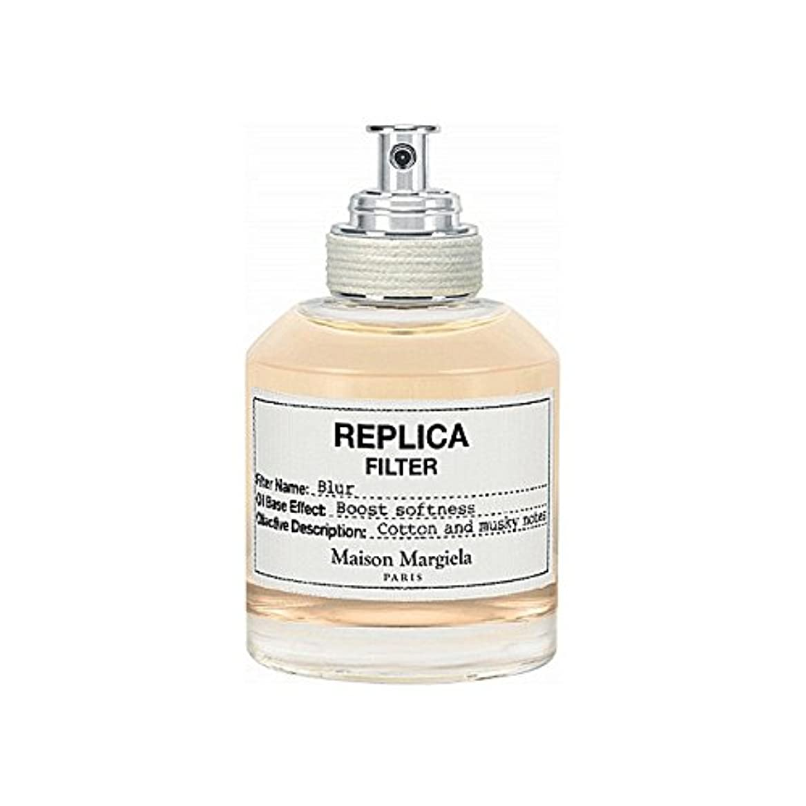 円形ジャズ目的Maison Margiela Blur Replica Filter 50ml (Pack of 6) - メゾンマルジェラのぼかしレプリカフィルタ50ミリリットル x6 [並行輸入品]