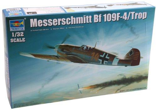 1/32 ドイツ軍 メッサーシュミット Bf109F-4/Trop