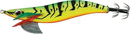 エバーグリーン(EVERGREEN) エギ エギ番長 XD 3.5号 28g ライム・エビ(黄) #1101Y