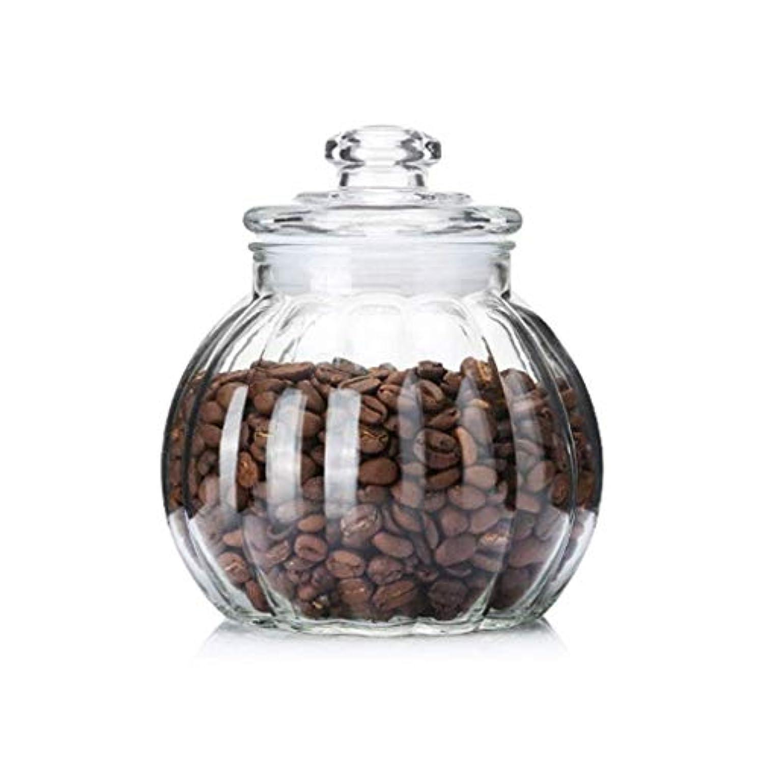 XSWZAQ ガラス瓶は蓋付き食品収納透明ガラス瓶は粉ミルクで充填蜂蜜茶穀物貯蔵タンク (Size : 1300ml)