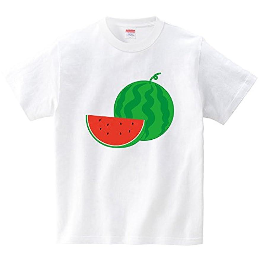 熱心な和組み合わせスイカ(Tシャツ?ホワイト) (フォーヴァ)