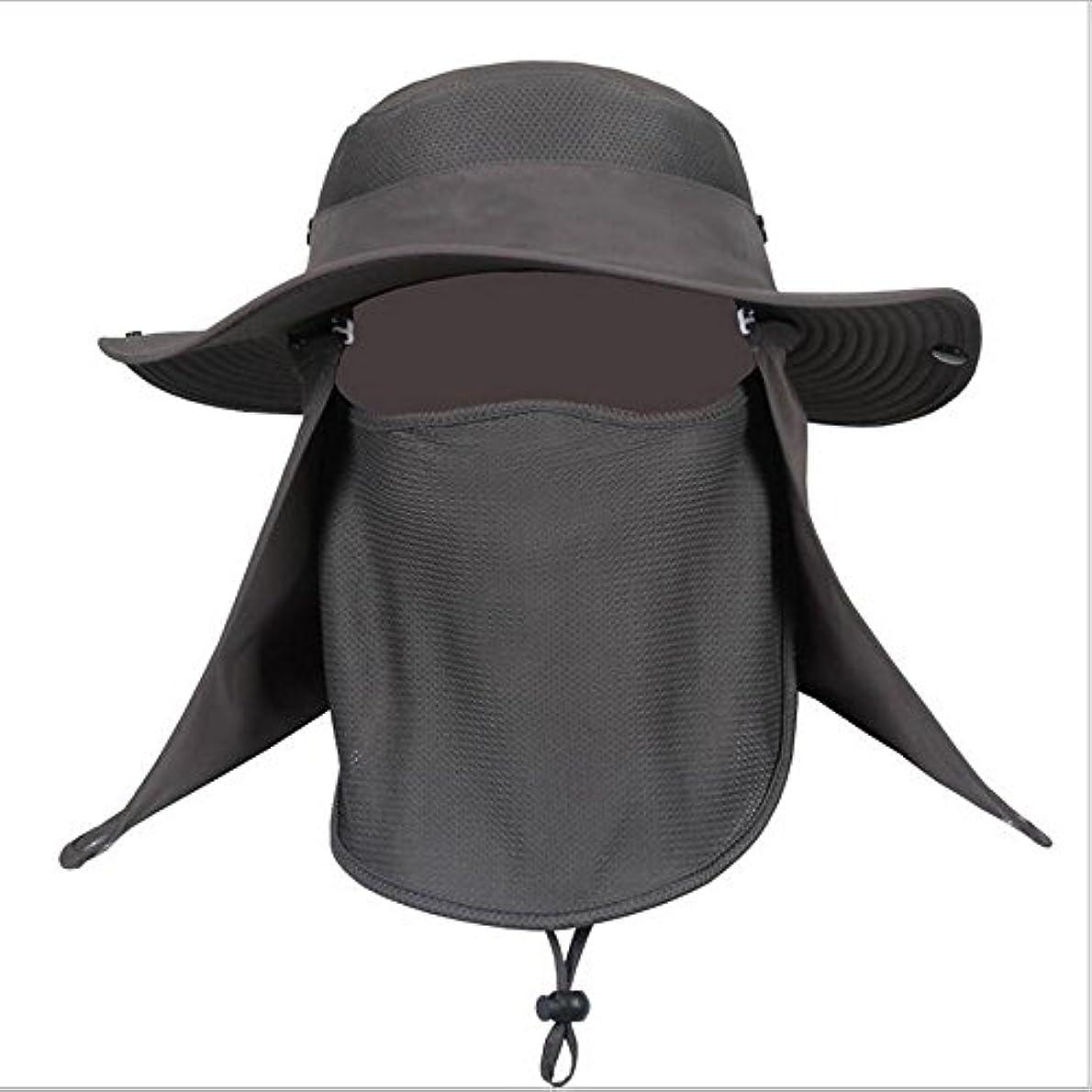 ギャラントリー消化器蜂帽子 ぼうし メッシュ 使用 紫外線 から 360度 ガード / UV カット 日焼け 防止 顔 首 日よけ カバー / 登山 釣り プール 海水浴