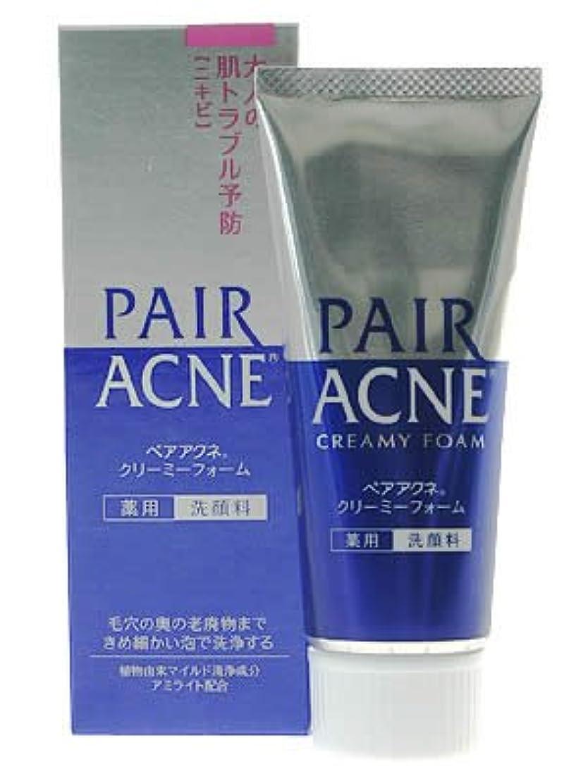 ブラシ値するブロックペアアクネ クリーミーフォーム 薬用洗顔料 80g(医薬部外品)