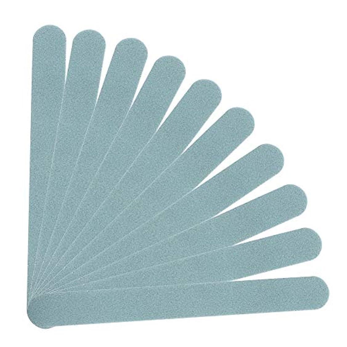 許容できるシュリンク石化するマニキュア ネイルアート用 10個のネイルポリッシングスポンジバッファー プロフェッショナル両面ファイルツール、