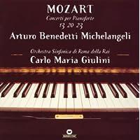 モーツァルト:ピアノ協奏曲第13番&第20番&第23番
