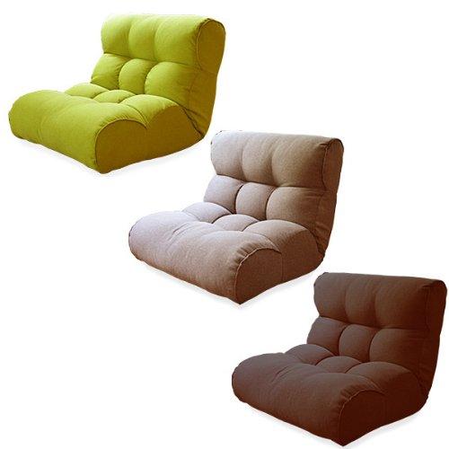 ソファみたいな座椅子 Piglet 2nd Select (ピグレット セカンド セレクト) (フレッシュグリーン)