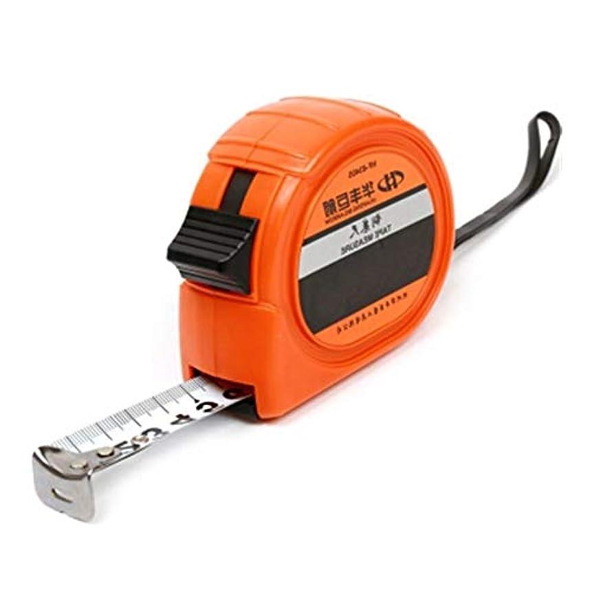 必要ない付き添い人ファイナンスMINHUISHANGMAO スチール巻尺3 M、5 M、7.5 M、測定ツール (Color : Orange, Size : 3m)