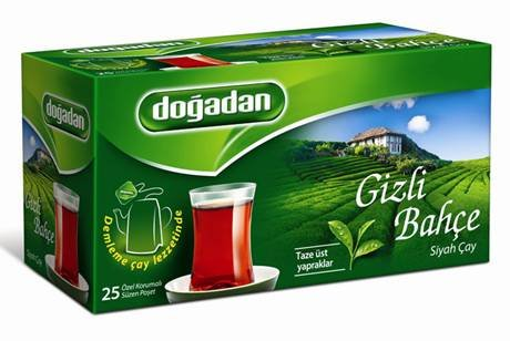 トルコ紅茶( トルコチャイ )ティーバッグ 2g×25P  ドアダン(dogadan)社