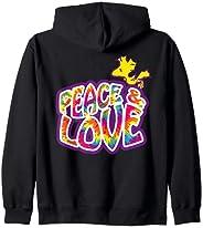 US Peanuts Woodstock Peace Love 01 ジップパーカー