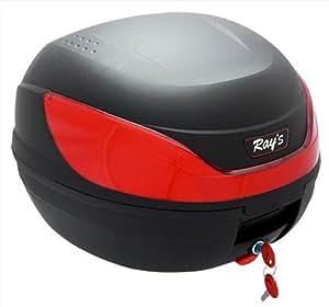 Ray's (レイズ) リアボックス 32L トップケース バイク 脱着可能式 ブラック 21819