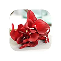 1PC人工花の結婚式の装飾のPuカーラリリーフラワーブーケホーム秋の装飾人工植物フェイクフローレス、005