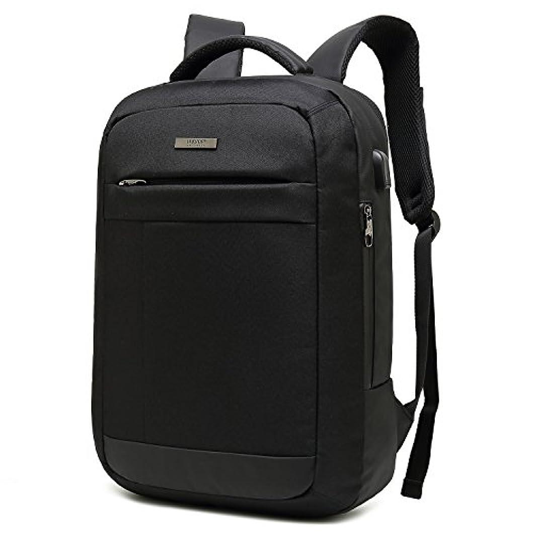 小人大男やもめクロース(Kroeus)ビジネスバッグ 人気 2way メンズ 通勤 出張 ブリーフケース PCバッグ 15.6インチ USBポート キャリーオン リュックサック 手提げ