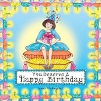 Book : You Deserve a Happy Birthday by Jenna Deangeles 102個SKU # 1795041MA