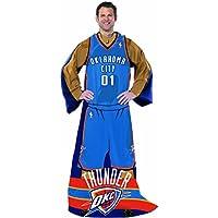 "NBAフルボディPlayer Adult Comfy Throw、48"" x 71"""