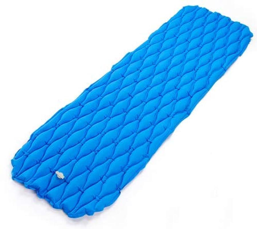 施しバスルームとらえどころのない超軽量防水TPUインフレータブルクッションポータブル旅行テント睡眠クッションエアクッション屋外シングル防湿インフレータブルクッション