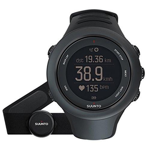 SUUNTO AMBIT SPORT HR SAPPHIRE (スント スパルタン スポーツ HR サファイア「) トライアスロンウォッチ GPS 防水 心拍計 [日本正規品] SS020678000 ブラック