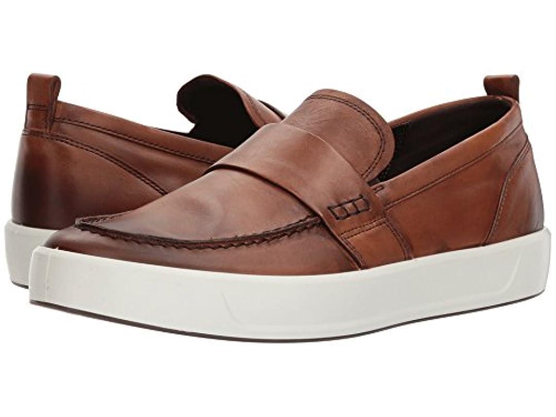 締め切りチーム最高[ecco(エコー)] メンズローファー?スリッポン?靴 Soft 8 Loafer Lion EU42 (US Men's 8-8.5) (26.5cm) M