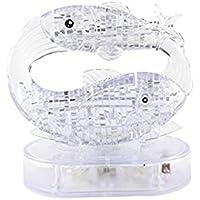[クールプレイ]Coolplay ® DIY 3D Jigsaw Crystal Puzzle with Flash Light Constellation Series Pisces LYSB00QF302TU-TOYS [並行輸入品]