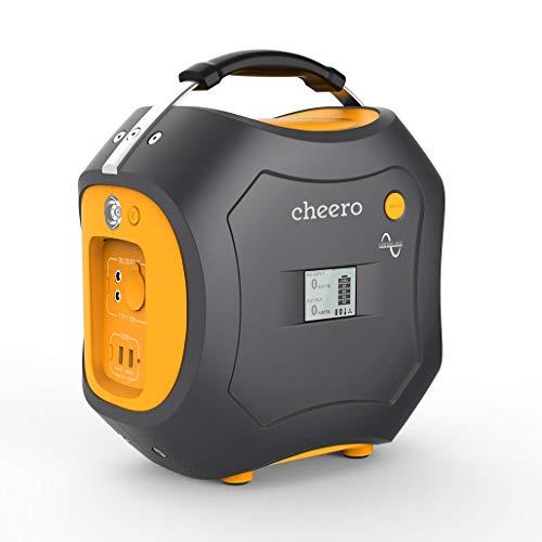 cheero Energy Carry 500Wh (139,200mAh) 大容量ポータブル電源 AC/DC/USB出力 モバイルバッテリー【PSE取...