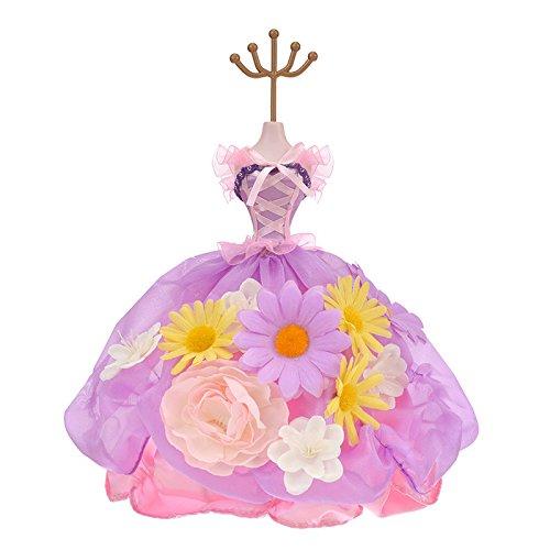 [해외]액세서리 스탠드 라푼젤 꽃 드레스/Accessory stand Rapunzel flower dress