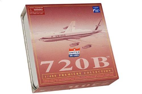 1:400 ドラゴンモデルズ 55733 ボーイング 720B ダイキャスト モデル ユナイテッド 航空 N7202U 720-022 with Water Jet 【並行輸入品】